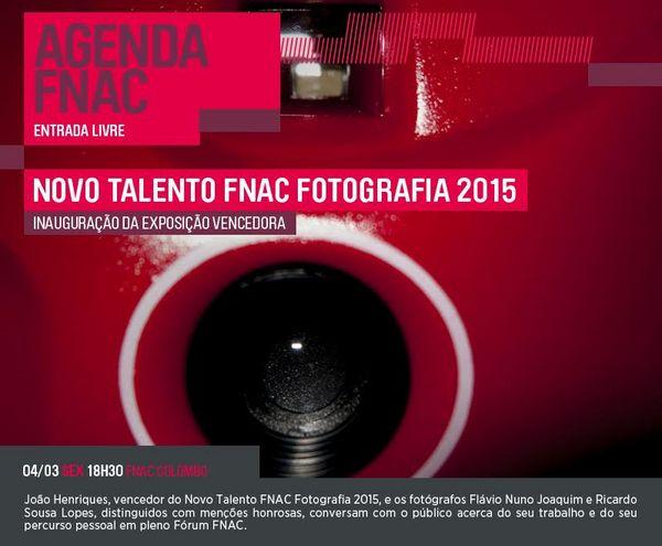 Vencedor Premio Fnac Novo Talento Fotografia 2015